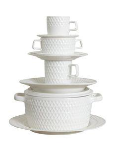 feadbd34c73d9f Affari - Teller groß   Speiseteller - LOTTA - Platte   Porzellan-Geschirr  Porzellan Geschirr