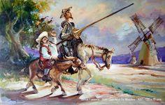 Mesmo sendo figuras de ficção criadas pelo espanhol Miguel de Cervantes y Saavedra (1547-1616) Dom quixote de La Mancha,e o seu escudeiro Sancho Pança são exemplo de uma devotada amizade!!