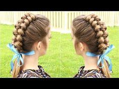 DIY Dutch Infinity Braid Hair Tutorial | Braidsandstyles12 - YouTube