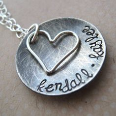 mother necklace..future want ..with all of my children's names