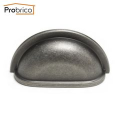 """27.99$  Watch here - http://aliyb2.shopchina.info/go.php?t=32651674335 - """"Probrico 10 PCS Vintage Shell Shape Furniture Drawer Knob 76mm 3"""""""" Antique Sliver Kitchen Cabinet Handle Pull PD953BNMDL76"""" 27.99$ #magazine"""