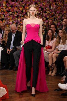 Julia Nobis in Christian Dior Fall 2012 Couture