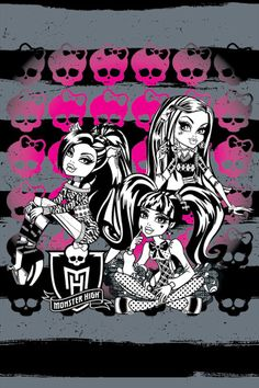 Monster High Phone Wallpaper - Download Free Wallpapers from Monster High | Monster High