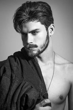 American Idle: Danilo Fonseca By Marko Ganzaro! Hair And Beard Styles, Short Hair Styles, What Makes A Man, Mans World, Facial Hair, Male Beauty, Hot Boys, Male Models, Beautiful Men