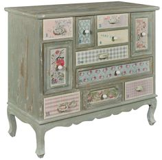 Patchwork Multi Drawer Chest from Chosen By Jessica