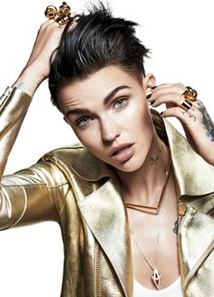 Ruby Rose-orange is the new black