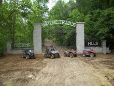 ATV Adventures Hocking Hills Ohio. I SO want to do this!