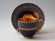 Royal Worcester Teacup and Saucer