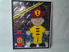 Firefighter Card for Lincoln