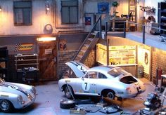 Wilcos Dioramas Porsche 356 Garage