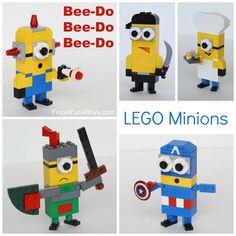 More LEGO Minions to Build