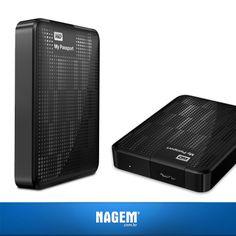 Com alta capacidade em uma unidade compacta, o HD WD 500 GB é perfeito para os que têm muitos vídeos, fotos, músicas e arquivos para proteger e levar por aí!