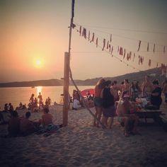 Soirée très agréable sur la plage, appréciant la musique et la détente !