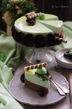 Cheesecake After Eight - Romanian Cheesecake Tarts, Cheesecake Cupcakes, Cheesecake Recipes, Mother Recipe, Chocolate Desserts, Cheesecakes, No Bake Cake, Sweet Recipes, Sweet Tooth