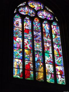 The Most Stunning Stained Glass Windows In The World (PHOTOS) Aix Cathedral, Aix-en-Provence,France