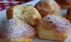 Juste histoire de goûter: Muffins au Citron