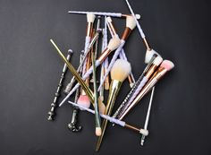 BRUSHES FOR THE BUDGET FRIENDLY WITCH Expensive Makeup, High End Products, Makeup Brushes, Bobby Pins, Budgeting, Witch, Hair Accessories, Beauty, Hairpin
