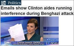 Fox News' Catherine Herridge has obtained shocking documents which show that Hillary Clinton's top advisers ran deliberate interference to prevent reporters and the public from learning the truth about what happened in the Benghazi terrorist attack: http://us9.campaign-archive2.com/?u=3e791128f9941a9ebe3983a18&id=0feae3d335
