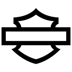 Sticker autocollant Harley Davidson Bar And Shield 2019 ★ Harley Davidson Decals, Harley Davidson Quotes, Harley Davidson Dyna, Collage Simple, Stickers Moto, Shield Drawing, Harley Tattoos, Shield Tattoo, Harley Gear
