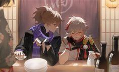 Shounen Ai Anime, G Words, Makoharu, Single And Happy, Perfect Timing, Why People, Ship Art, Anime Guys, Art Reference