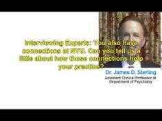 Dr. James D. Sterling Discusses New York Center for Psychotherapy's Refe...