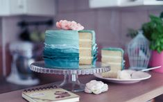 Download wallpapers cake with blue cream, sweets, birthday cake, baked goods 25th Birthday, Birthday Cake, Food Wallpaper, Blue Aesthetic, Blue Cream, No Bake Cake, Baked Goods, Sweet Treats, Sweets