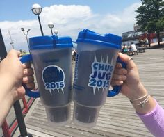 Cheers to a chill summer 2015! Roll on into any Cumberland Farms and pick up a Chug Jug to enjoy $0.49 cent Chill Zone frozen and fountain drink refills through Labor Day.