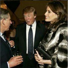 Melanie Trump w futrze z szynszyli