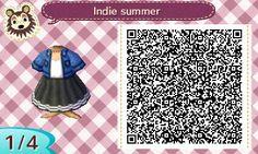 Animal Crossing Designs, toottown: Indie summer
