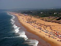 Candolim Beach, Goa- A Blissful Environment - I had already heard about the #Candolim_Beach in #Goa which is known to be one of the largest and most beautiful beaches of the country. The beach is located in the northern end of Goa, which is about fifteen kilometers from the capital of Goa, #Panaji.