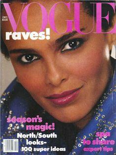 Vogue Cover December 1982 - Shari Belafonte by Richard Avedon