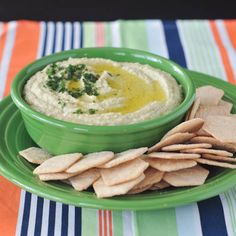 Artichoke Lemon Hummus—SO easy to make and delightfully tangy.