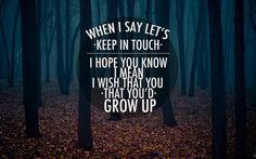 cover photo brand new lyrics - Google Search