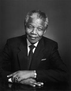 Mandela by Yousuf Karsh