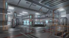 Interior Environment by DJBshadow.deviantart.com on @deviantART