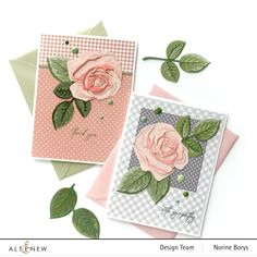 Diy Paper, Paper Crafts, Sympathy Greetings, Sympathy Cards, Altenew Cards, 3d Rose, Blooming Rose, 30 Gifts, Paper Roses
