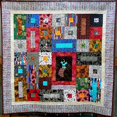 African Dancer Commission Quilt Full