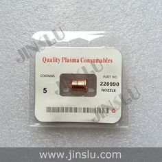 Free Shipping Plasma Consumables 220842 Electrode 50PCS & 220990 Nozzle 50PCS