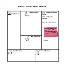 Business model canvas template 20 gratis word excel pdf 10 business model templates word excel pdf templates wajeb Images