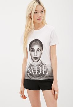 Sade Graphic Tee by Forever 21 on HeartThis