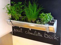 jardin pour cuisine - upcycling #pourchezmoi