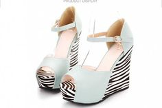 Popular Black Striped Wedges-Buy Cheap Black Striped Wedges lots ...