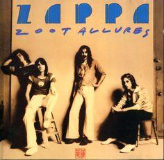 Zoot Allures  CD cover  by Carl Schenkel