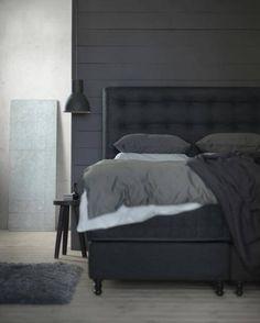 Eher cool und clean: Vallavik von Ikea. Dream Bedroom, Bedrooms, Furniture, Live, Home Decor, Bedroom, Home, Ikea Duvet, Bedroom Ideas