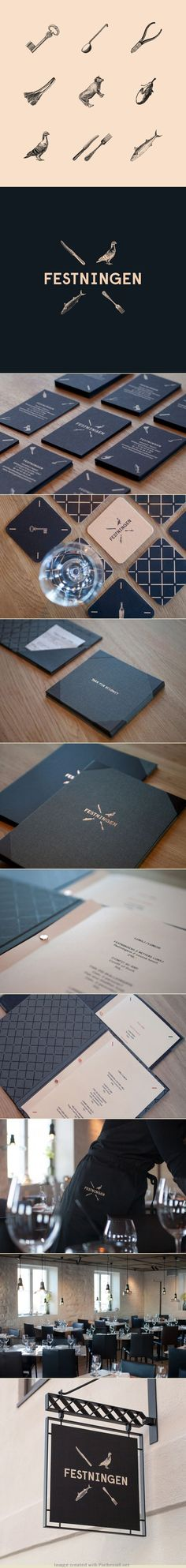 Festningen | by Uniform | #stationary #corporate #design #corporatedesign #identity #branding #marketing < repinned by www.BlickeDeeler.de | Take a look at www.LogoGestaltung-Hamburg.de