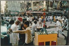 Raghubir Singh: Bazaar through Glass Door, Bombay (1991.1285) | Heilbrunn Timeline of Art History | The Metropolitan Museum of Art