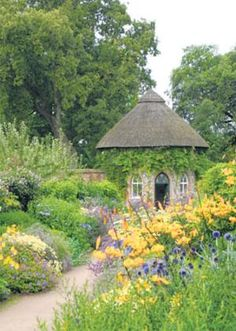 West Dean Gardens. West Dean, near Chichester, West Sussex