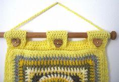 Crochet Wall Pockets   Flickr - Photo Sharing!