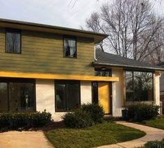 Exterior Split Level Design Ideas, Pictures, Remodel, and Decor Houzz