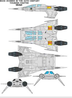 buck rogers in the century Thunder Fighter Description This fighter is a medium starfighter used by the Earth Defense Directorate to protect the Earth and all starships in service in with the . Spaceship Art, Spaceship Design, Spaceship Concept, Buck Rodgers, Arte Gundam, Cyberpunk, Nave Star Wars, Sci Fi Spaceships, Quad